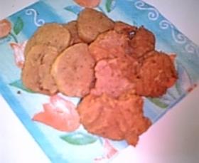 和菓子のようなさつま芋ソフトクッキー?