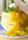 グルテンフリ−!米粉でもっちりパンケーキ