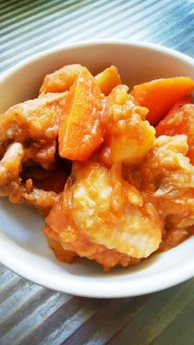 チューリップチキンのケチャップ煮(節約)