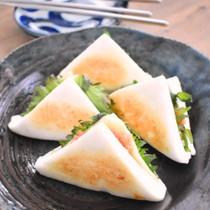 はんぺんの明太チーズはさみ焼