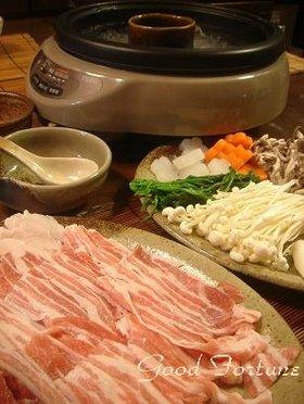我家の一番人気メニュー☆豚バラのしゃぶ鍋