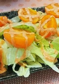 春レタスの簡単サラダ♪♪