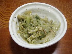 エリンギと玉ねぎ・ブロッコリーのマヨ炒め