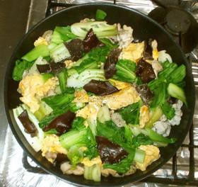 豚肉ときくらげの酢野菜炒め♪簡単