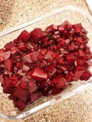 バルサミコ酢香るほんのり甘い赤ビーツ♡の写真
