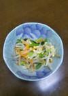 きむら家の小松菜と油揚げのおひたし