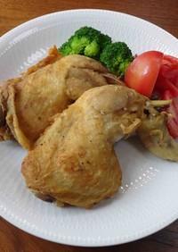 鶏もも肉のフライドチキン