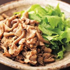 しめじと豚ばら肉の生姜焼き