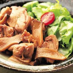 エリンギと鶏もも肉の照り焼き