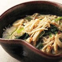 えのきと小松菜とちくわの煮浸し