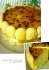 パッションフルーツムースケーキ