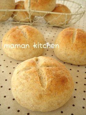 ふんわりもっちり♥ライ麦パン