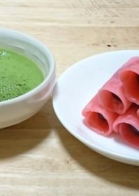 簡単 だんご粉で作る関東風桜餅