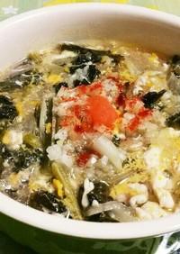 鎌倉野菜♡卵入り♪シャキシャキスープ
