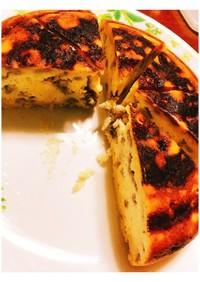 HM混ぜるだけ!炊飯器で簡単バナナケーキ