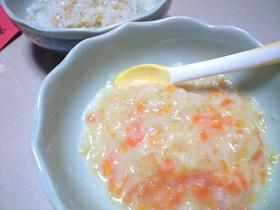 離乳食・初期・中期■野菜とホワイトソース