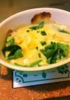 簡単牡蠣の味噌グラタン