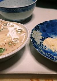 豆乳湯豆腐✨✨