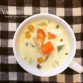 春野菜たっぷりSOIミルクスープ