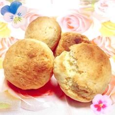トースターとHMで作る簡単お豆腐スコーン