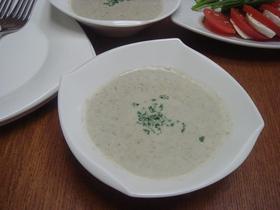 ごぼうのクリームスープ