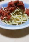 サバ水煮缶 トマト缶パスタソース