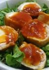 洋風豚たま丼