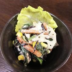 健康的ひじき野菜サラダ *ˊᵕˋ)੭