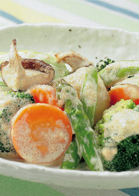 野菜のホットサラダ