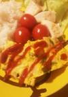 幼児食★スチーマーで野菜たっぷりオムレツ