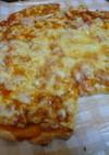 天ぷら衣の残りピザ