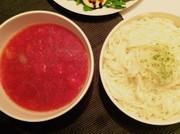 肉じゃがリメイク◎トマトスープうどんの写真