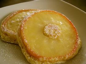 りんごのホットケーキ