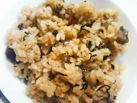 無洗米&煮汁活用!キノコの炊き込みご飯★