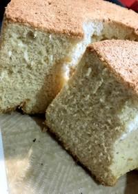 わらび餅粉と米粉で作るきな粉シフォン