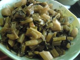 信州*野沢菜の油炒め