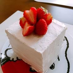 母の日にも!簡単食パンdeケーキ♡