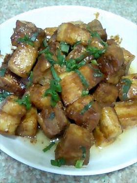 豚バラの味噌焼き