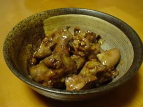 ♡☆中華風♪鶏レバーのオイスターソース煮