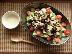 簡単★納豆ふりかけの豆腐サラダ