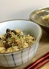 中華風豆ともち麦炊き込みご飯炊飯器で簡単