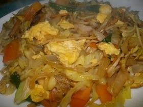 アジアンな焼き麺