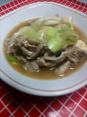 簡単♪肉豆腐♪