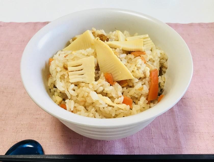 タケノコご飯・炊き込みご飯・3合分