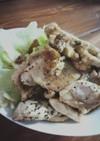 鶏ムネ肉のガーリックレモンソテー