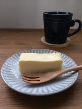とろける食感♡糖質オフチーズケーキ