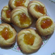 キンカン(甘露煮)のクッキー