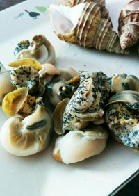灯台つぶ貝の簡単食べ方