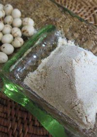 炒り大豆で...手作りきな粉