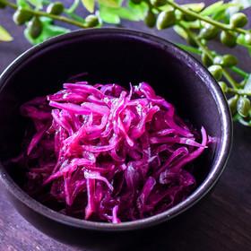 紫キャベツの甘酢マリネ◎作り置きに♪